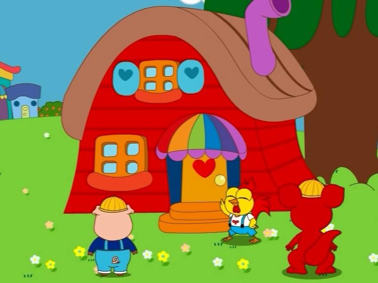 小豬的新房子